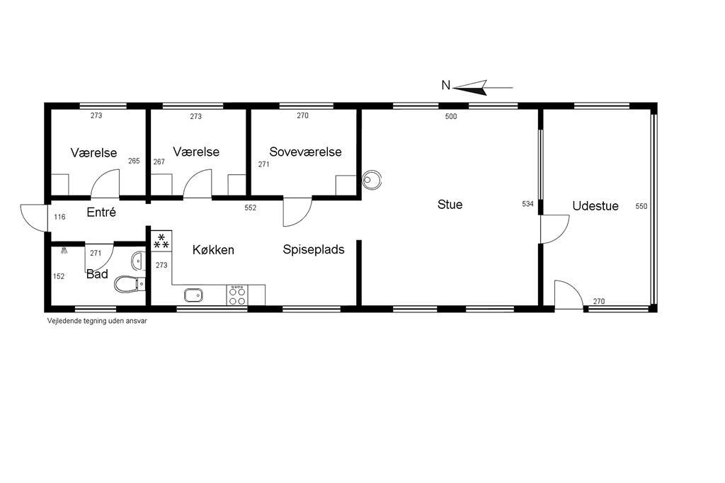 Innenausstattung 1-1336 Ferienhaus 475-N, Humlevej 15, DK - 3300 Frederiksværk