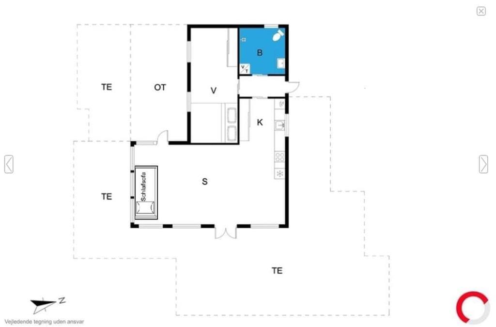 Interior 1-19 Holiday-home 30099, Ajstrup Strandvej 162, DK - 8340 Malling
