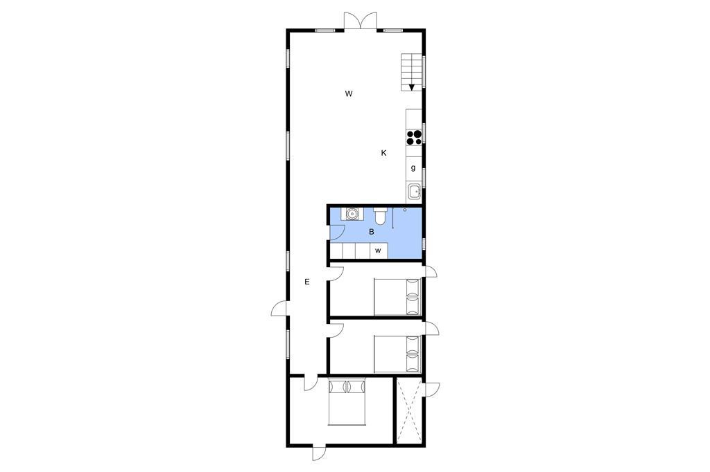 Interieur 1-3 Vakantiehuis M642994, Kystvejen 8, DK - 5466 Asperup