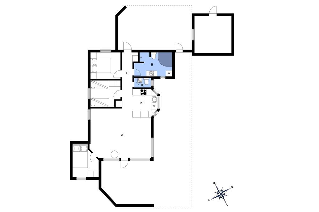 Innenausstattung 1-3 Ferienhaus L15237, Jelsevej 147, DK - 7840 Højslev