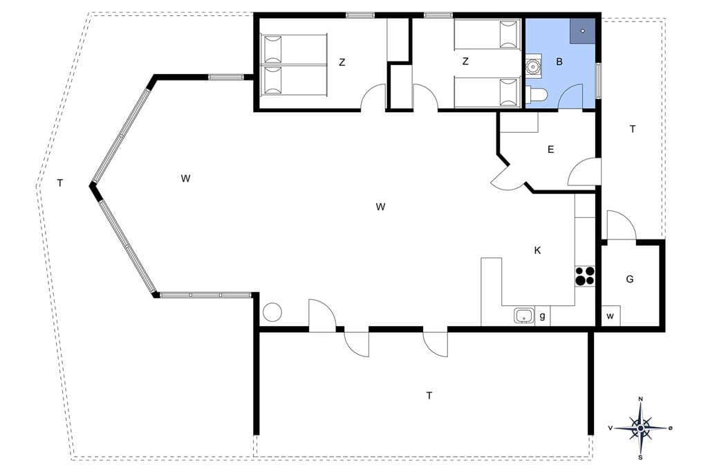 Indretning 1-13 Sommerhus 608, Vesterhavsgade 49, DK - 7700 Thisted