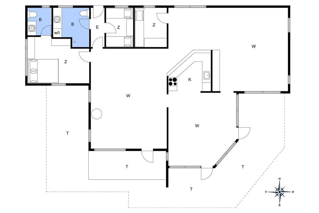 Innenausstattung 1-19 Ferienhaus 30019, Ahornvænget 7, DK - 8340 Malling