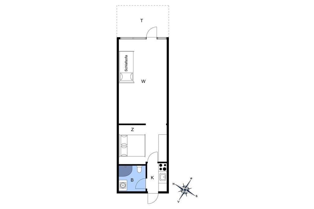 Interieur 1-10 Vakantiehuis 2811, Dueodde Feriepark 62, DK - 3730 Nexø
