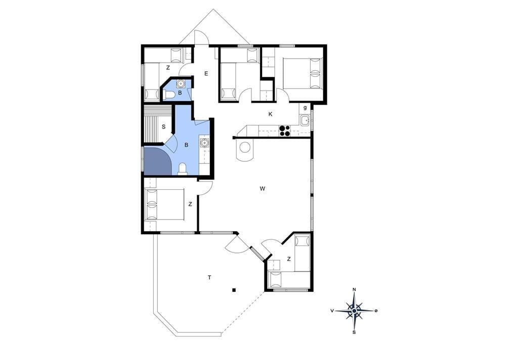 Indretning 1-15 Sommerhus 3313, Overlid 11, DK - 4780 Stege