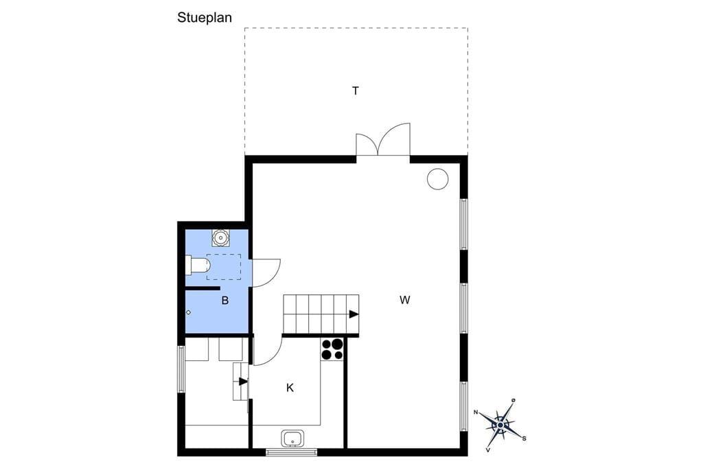 Interieur 1-10 Vakantiehuis 5548, Melsted Langgade 3, DK - 3760 Gudhjem