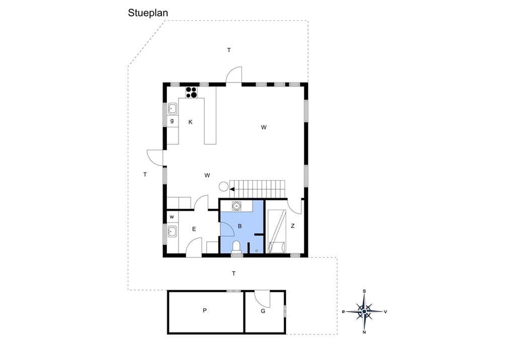 Innenausstattung 1-172 Ferienhaus JB1031, Thorup Strandvej 266, DK - 9690 Fjerritslev