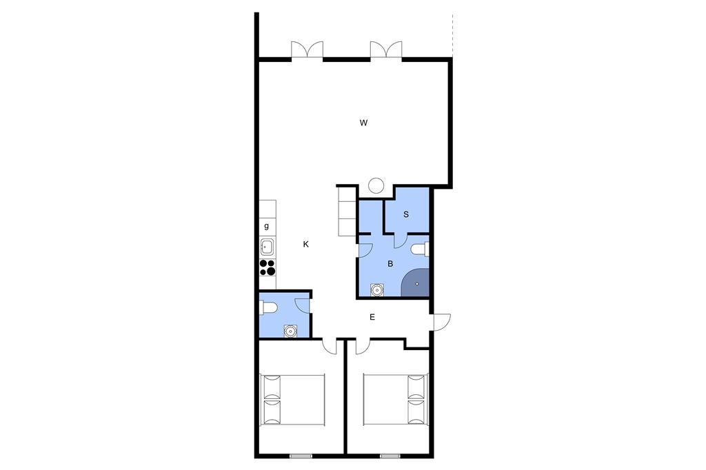 Interior 1-3 Holiday-home F50411, Østersøvej 4, DK - 6300 Gråsten