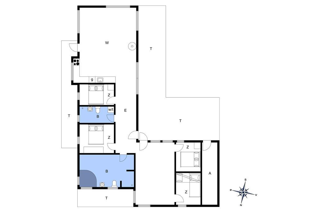 Interieur 1-14 Vakantiehuis 1101, Alexandravej 37, DK - 9480 Løkken