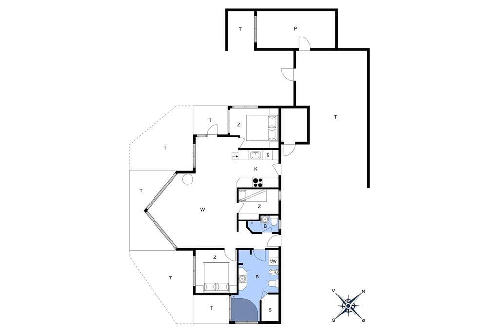 Innenausstattung 1-178 Ferienhaus LN508, Klitmarken 10, DK - 9800 Hjørring