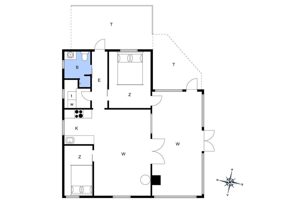 Indretning 1-19 Sommerhus 30350, Rythiavang 17, DK - 8300 Odder