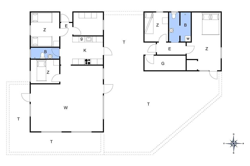 Interieur 1-148 Vakantiehuis TV1247, Paradisdalen 31, DK - 9881 Bindslev