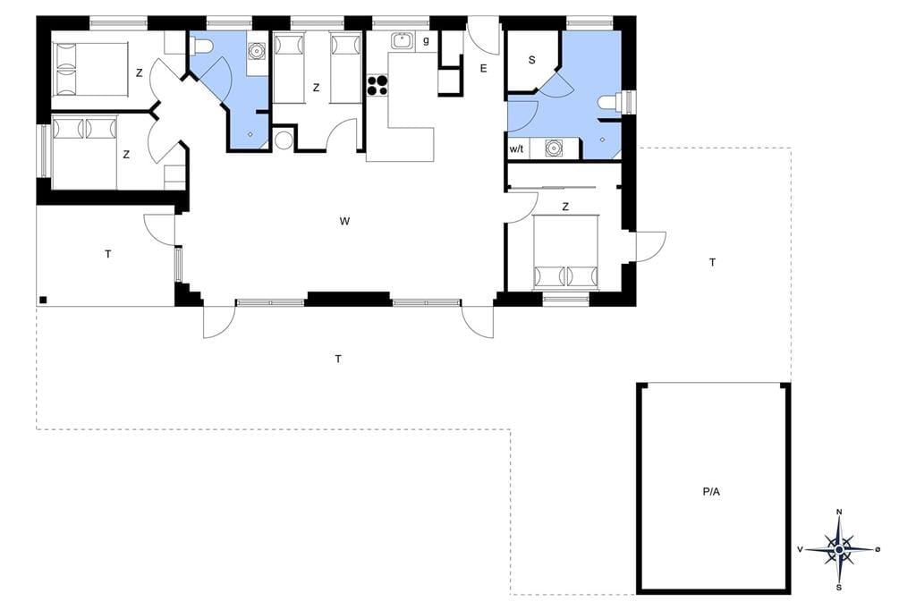 Interieur 1-14 Vakantiehuis 1660, Hvide Klit 7, DK - 9493 Saltum