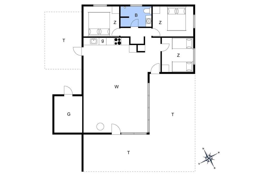 Interior 1-3 Holiday-home L16135, Liengård 74, DK - 9640 Farsø