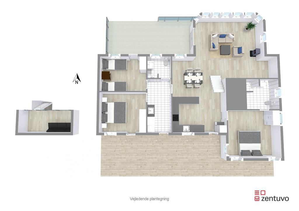 Interieur 1-17 Vakantiehuis 11101, Poppelvej 24, DK - 4500 Nykøbing Sj