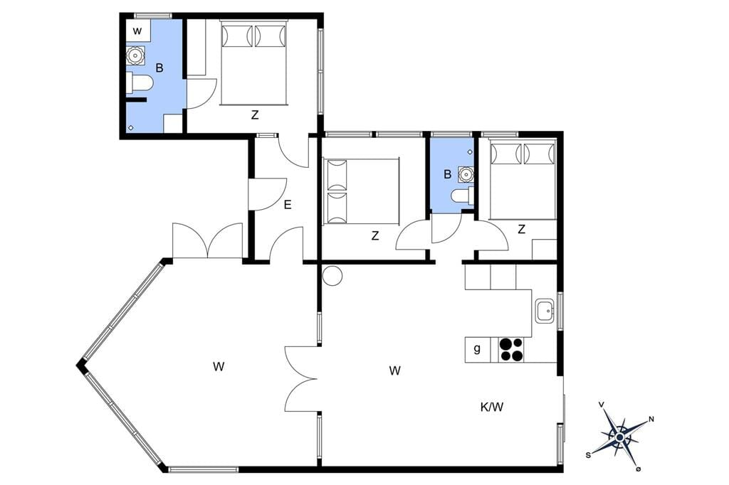 Interior 1-22 Holiday-home C11311, Hjortevej 8, DK - 6880 Tarm