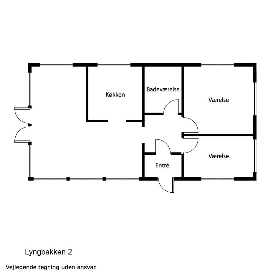 Indretning 1-17 Sommerhus 11816, Lyngbakken 2, DK - 4500 Nykøbing Sj