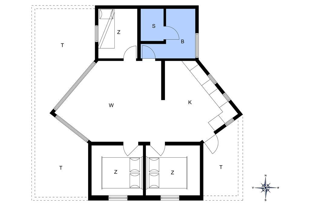 Indretning 1-401 Sommerhus OH290, Sletten 81, DK - 9560 Hadsund