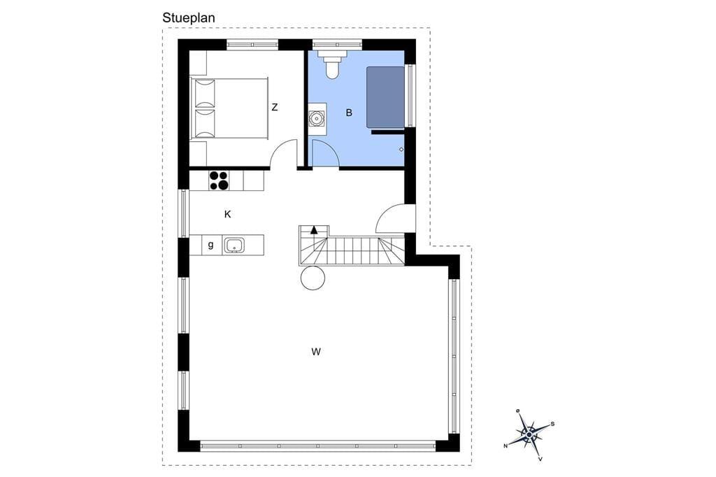 Interieur 1-14 Vakantiehuis 1437, Rolighedsvej 8, DK - 9480 Løkken