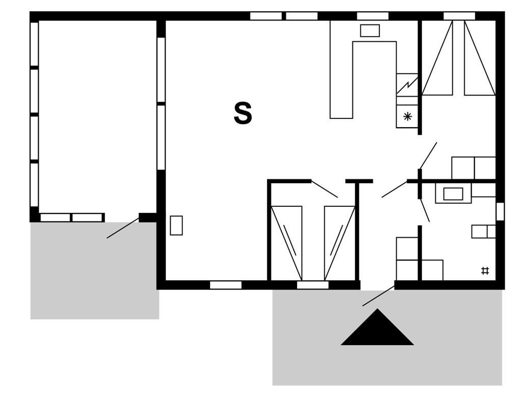 Innenausstattung 1-175 Ferienhaus 50189, Klitvej 34, DK - 6990 Ulfborg