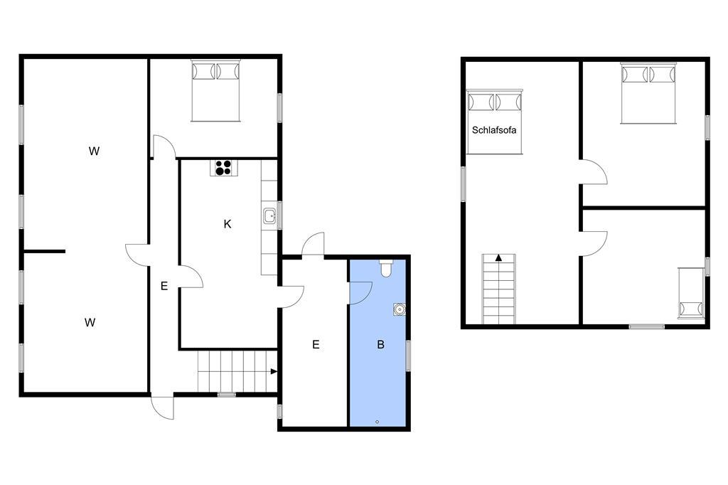 Innenausstattung 1-3 Ferienhaus M70181, Ommelsvejen 14, DK - 5960 Marstal