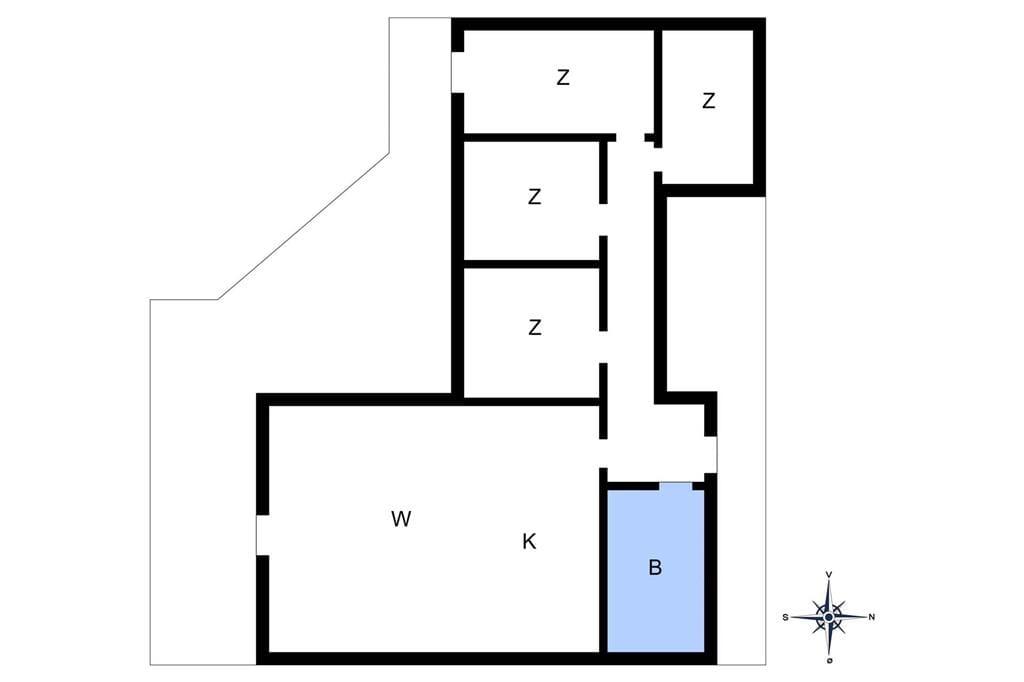 Indretning 1-15 Sommerhus 3012, Forgården 2, DK - 4780 Stege