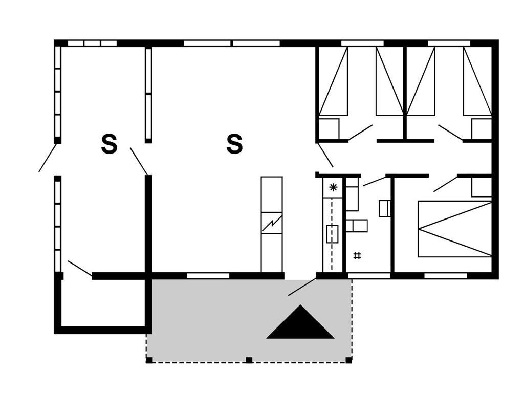 Innenausstattung 1-175 Ferienhaus 30171, Snerlevej 492, DK - 6990 Ulfborg