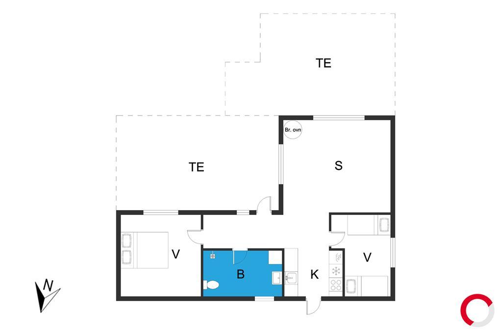 Interior 1-19 Holiday-home 30473, Strandparksvej 43, DK - 8300 Odder