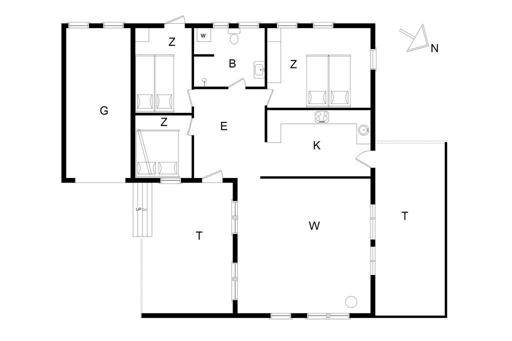 Interieur 1-14 Vakantiehuis 299, Klitbakkevej 2, DK - 9800 Hjørring