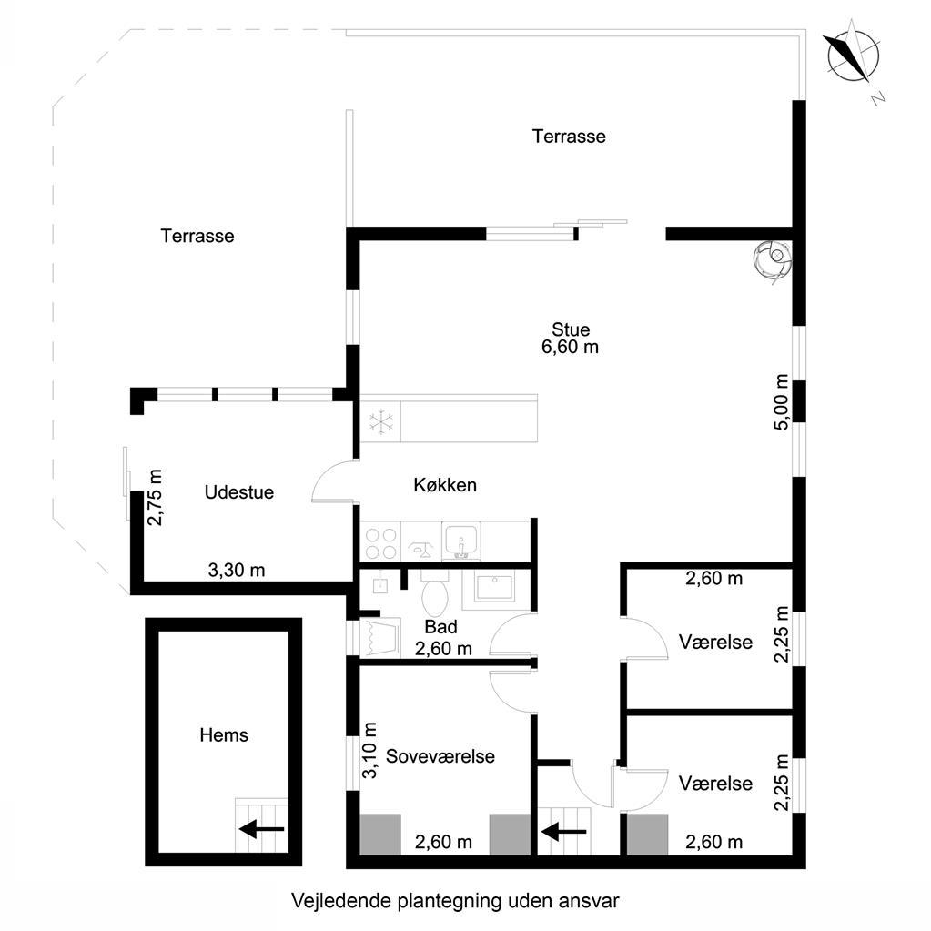 Interieur 1-19 Vakantiehuis 40322, Frede Juelsvej 261, DK - 7130 Juelsminde