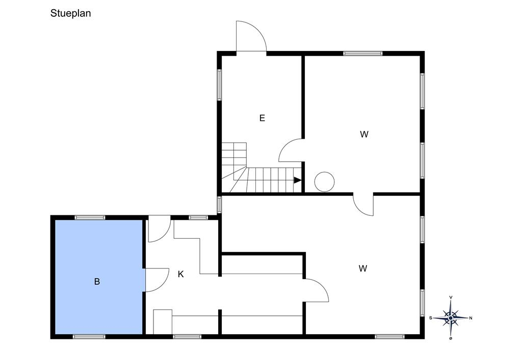 Innredning 1-10 Feirehus 5744, Sdr. Strandvej 116, DK - 3770 Allinge