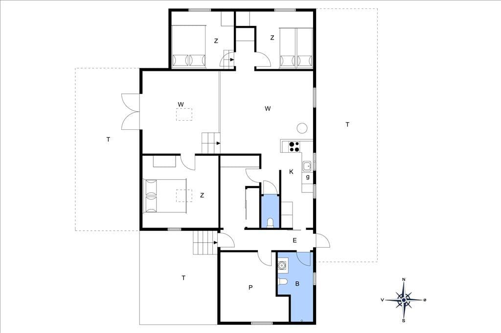 Innenausstattung 20-19 Ferienhaus 30008, Gyvelvænget 5, DK - 8340 Malling