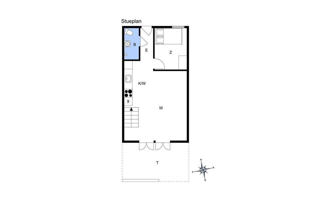 Indretning 1-13 Sommerhus 274, Havnevej 1, DK - 7770 Vestervig