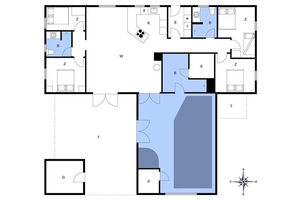 Innenausstattung 1-175 Ferienhaus 10609, Grævlingevej 20, DK - 6990 Ulfborg