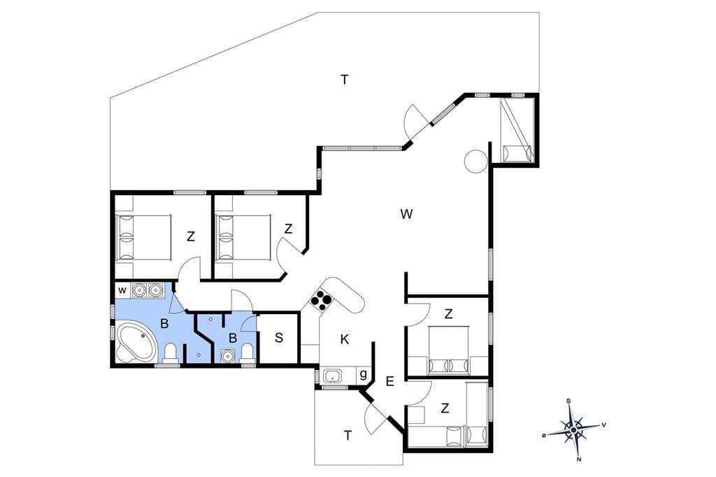 Indretning 1-15 Sommerhus 3306, Bunden 7, DK - 4780 Stege