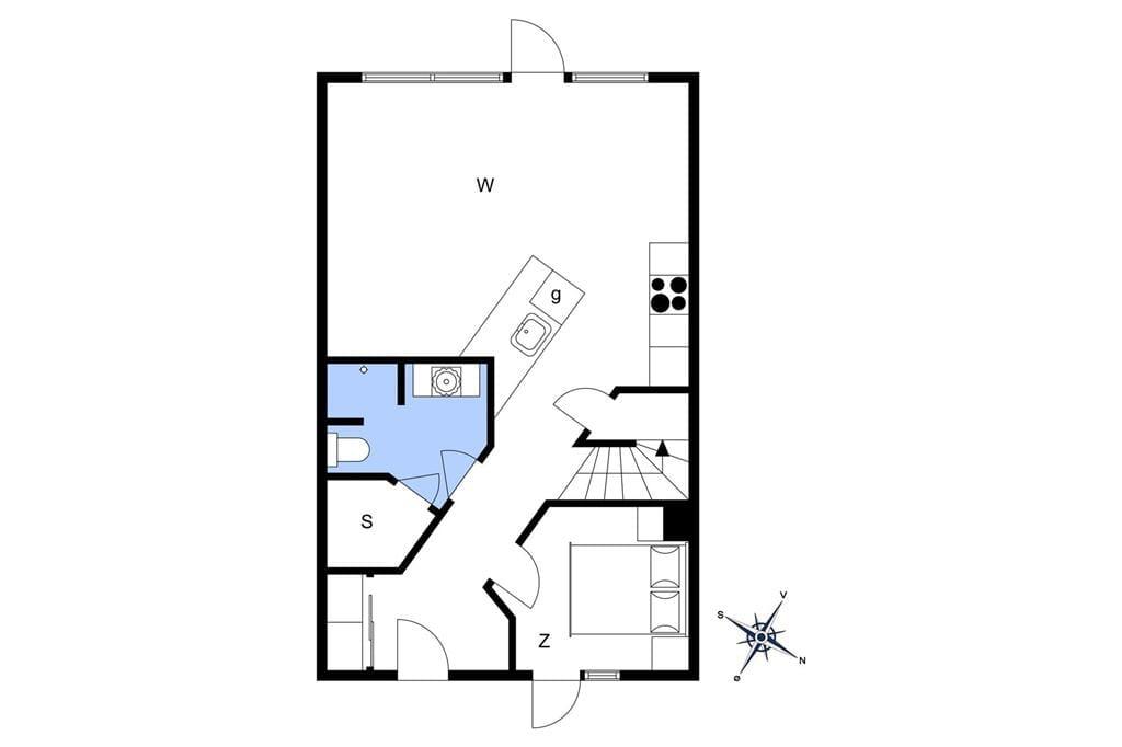 Interior 1-14 Holiday-home 1599, Laksen 45, DK - 9480 Løkken