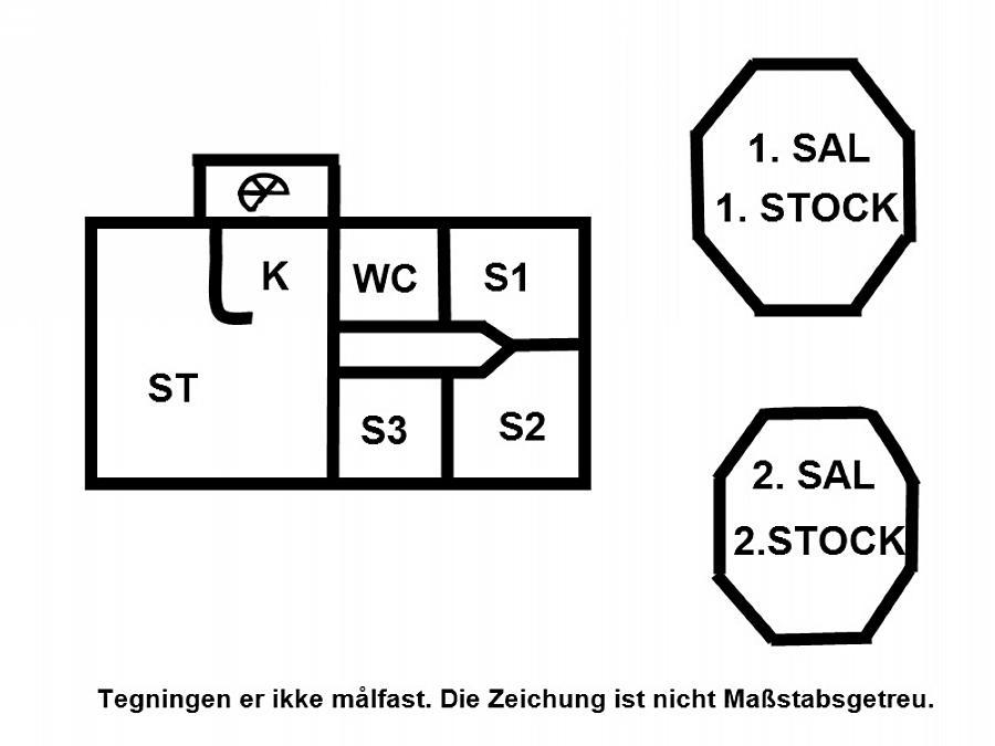 Inredning 1-15 Stuga 4304, Klintevej 273, DK - 4791 Borre