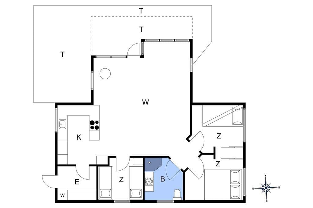 Indretning 1-174 Sommerhus M22005, Ore Strandpark 25, DK - 4850 Stubbekøbing