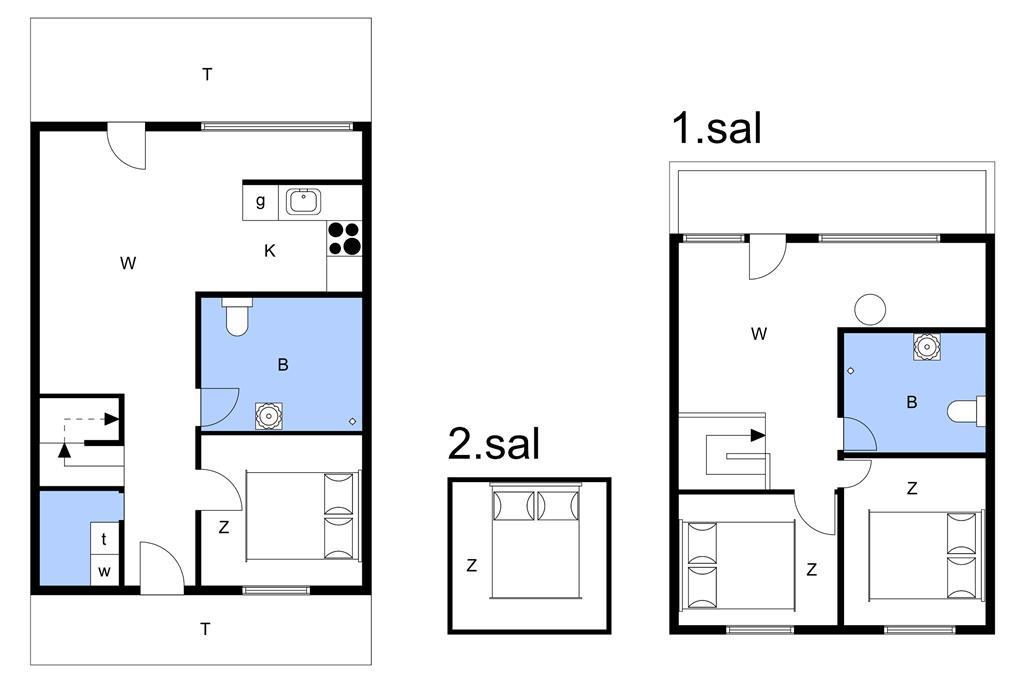 Innenausstattung 1-11 Ferienhaus 0236, Havnebyvej 61, DK - 6792 Rømø
