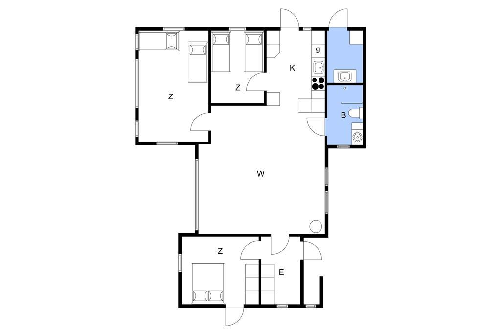 Interior 1-3 Holiday-home M653261, Tornhøjvej 13, DK - 5600 Faaborg