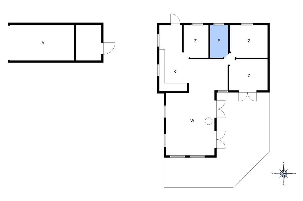 Innenausstattung 1-10 Ferienhaus 3638, Hedevej 10, DK - 3730 Nexø