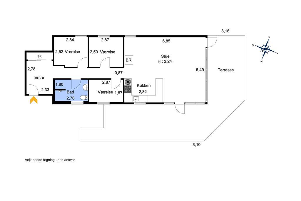 Interieur 1-19 Vakantiehuis 40321, Vigen 22, DK - 7130 Juelsminde
