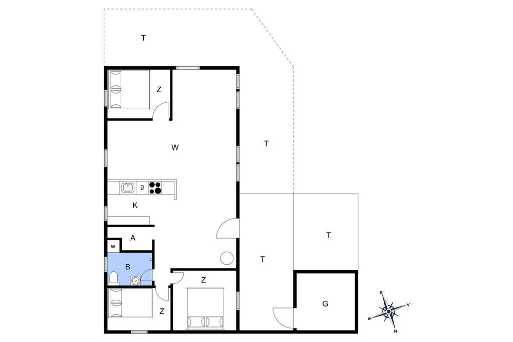 Interieur 1-13 Vakantiehuis 576, Klemsvej 26, DK - 7700 Thisted