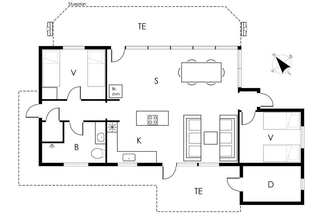 Interior 1-19 Holiday-home 40317, Åbakken 18, DK - 7130 Juelsminde