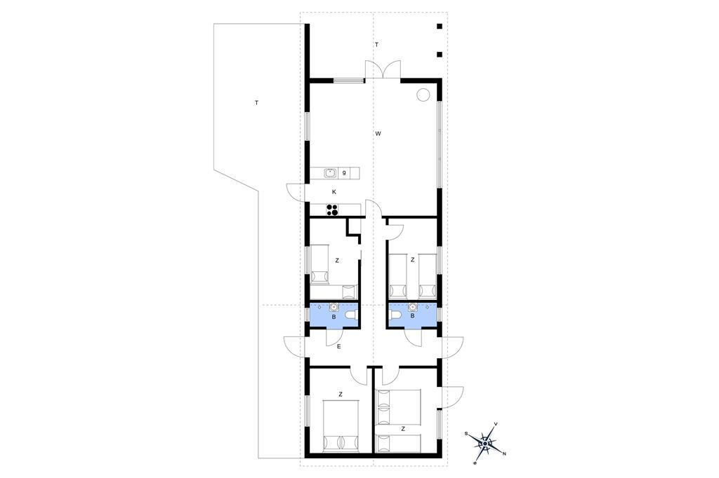 Indretning 1-17 Sommerhus 16638, Bakkevejen 9, DK - 4540 Fårevejle