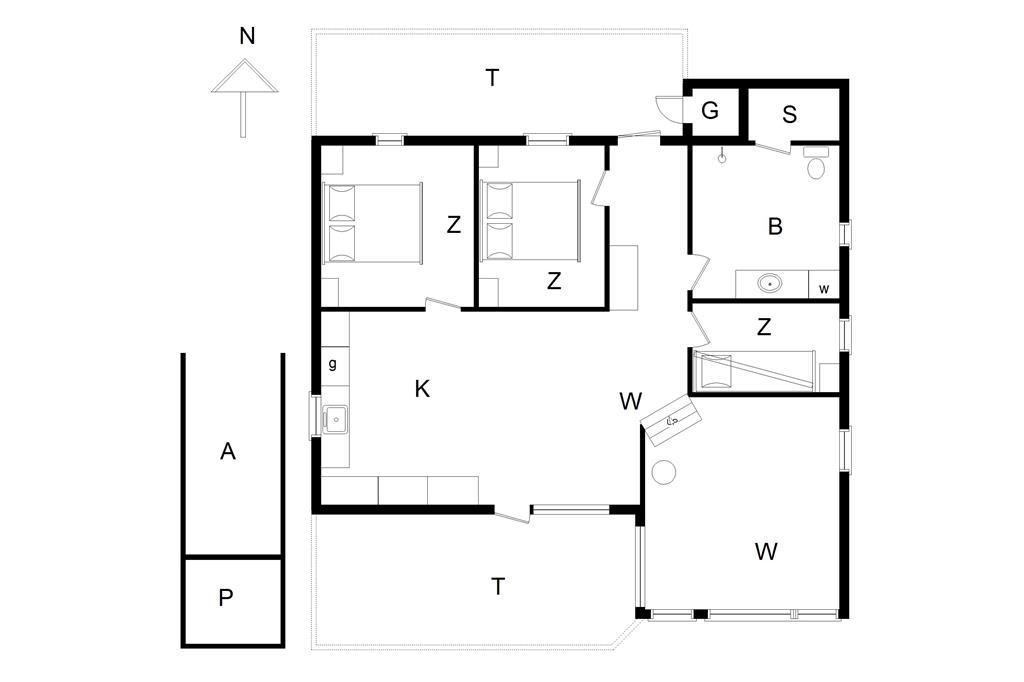 Interieur 1-178 Vakantiehuis LN511, Bakkestjernevej 4, DK - 9800 Hjørring