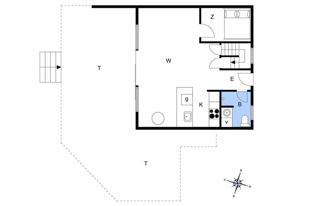 Interieur 1-13 Vakantiehuis 850, Sandvej 19, DK - 7700 Thisted