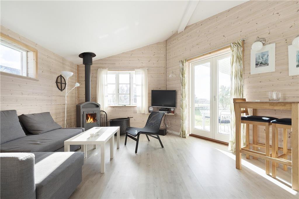 Foto Woonkamer Vakantiehuis nr. L50389 in Lynderup Denemarken