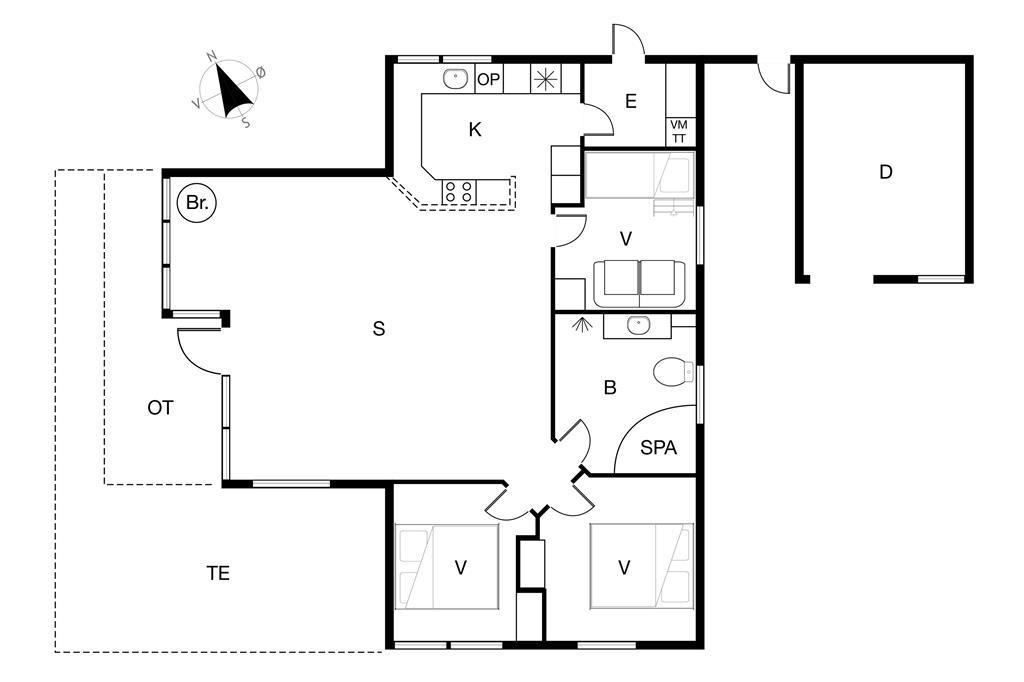 Interieur 1-19 Vakantiehuis 30435, Engvej 15, DK - 8300 Odder