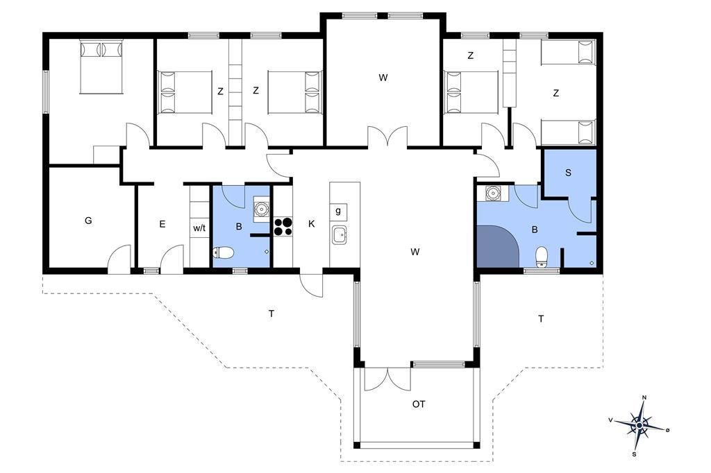 Innenausstattung 1-173 Ferienhaus BV112, Juulsvej 4, DK - 6857 Blåvand