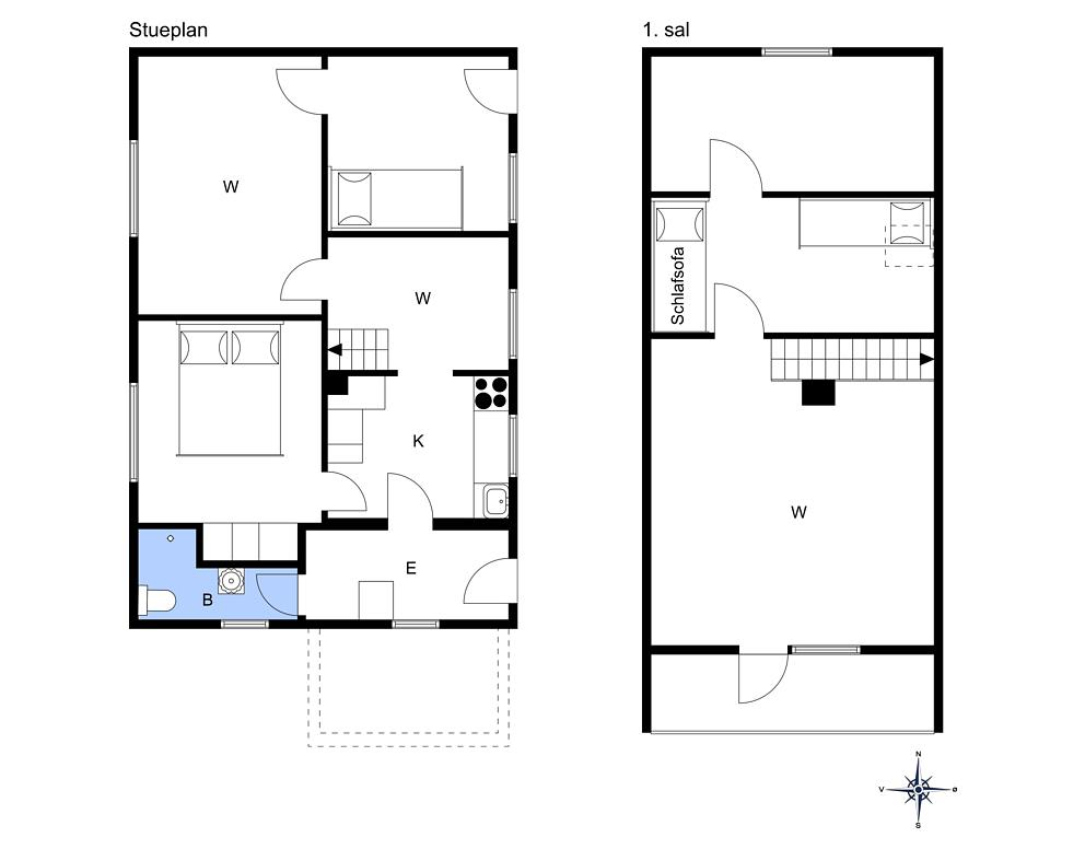 Innenausstattung 1-3 Ferienhaus L15250, Stårupvej 31, DK - 7840 Højslev
